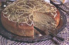 Greek Sweets, Greek Desserts, Greek Recipes, Greek Cake, Low Calorie Cake, New Year's Cake, Sweet Bread, Cake Cookies, Food Processor Recipes
