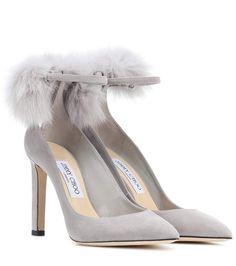 Commandez Escarpins en daim et fourrure South 100 dans une des plus importantes boutiques de mode en ligne.  Livraison rapide. Paiement sécurisé.