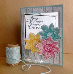 Love You More Than Chocolate... | Rambling Rose Studio | Billie Moan