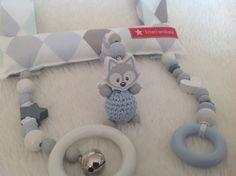 Kinderwagenketten - Mobile für Babyschale - ein Designerstück von kisari bei DaWanda