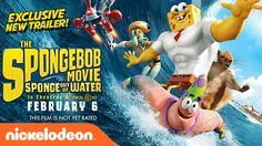 SpongeBob and his pals are leaving Bikini Bottom and are headed to the human world in a brand new 3D movie! The SpongeBob Movie: Sponge Out of Water is comin...