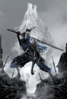 New Dark Souls fine art prints at video game art gallery Cook and Becker! Dark Fantasy Art, Fantasy Kunst, Fantasy Armor, Art Dark Souls, Dark Souls Armor, Seele Tattoo, Dark Souls Artorias, Jagodibuja Comics, Soul Art