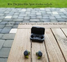 Win #Jabra Elite Sport wireless earbuds. A truly wire-free earbud with superb sound quality for music and calls, featuring cutting-edge wireless connectivity to ensure maximum performance and delivery. @born2impress #Music #Giveaway #ad