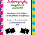 Insta-ography: Snapshots of an Inventor or Scientist 1st,
