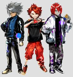 Evans, Inazuma Eleven Go, Soccer World, Best Series, Anime, Character Design, Fan Art, Manga, Fictional Characters