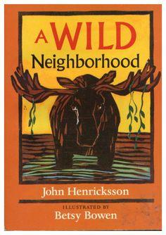 Betsy Bowen, Minnesota artist & author.   We love her children's books.