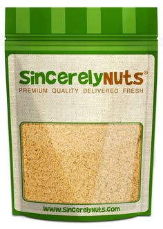 Sincerely Nuts Natural Macadamia Nuts Flour Meal - One (1) Lb. Bag -Finest Quality, Pure Ground - Full of Healthy Nutrients - Kosher Certified! *** For more information, visit now : Fresh Groceries