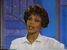 Arsenio Hall interviews Whitney Houston