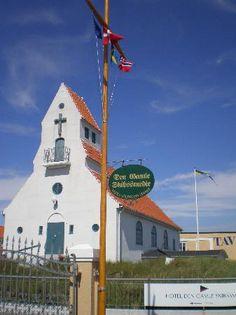 Den Svenske Somandskirke in Skagen, Nordjylland, Denmark
