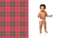 Honest Diapers in Red Plaid #Winter2015 #effective #safe #delightful