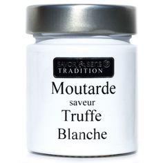 Moutarde saveur truffe blanche - 130 g - Color - Plaisirs salés-Épicerie gourmande-Cuisine-Par pièce - Décoration intérieur - Alinea
