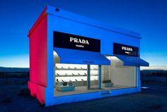 e7be756a89ecd Prada Marfa, A Full Scale Replica of a Prada Boutique In Texas: Art or  Advertisement?