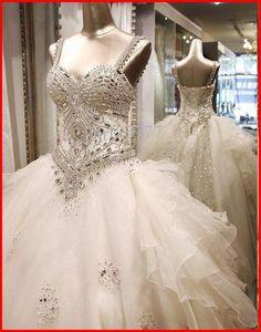 Yz Luxury Crystal Bright Diamond Shoulder Wedding Dress From Fashion Bridal