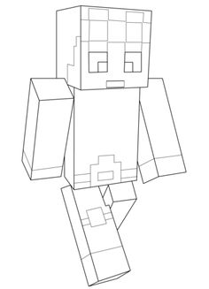 Minecraft Dantdm Coloring Page Free Printable Pages Crafts