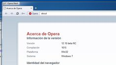 Lanzado Opera 12.10 Beta: mayor funcionalidad, mayor velocidad http://www.genbeta.com/p/71904
