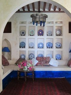 Sitting room at Full Moon House in Lamu