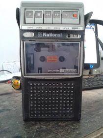 É da sua época?: [1980] Rádio-Gravador Portátil