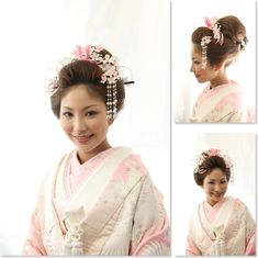 Pale Pink Furisode with Cranes