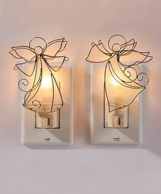 Take a look at this Angel Night Light Set on zulily today!