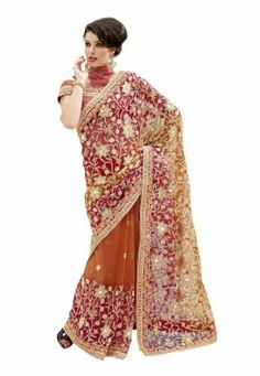 #Fabdealdotcom #Indian #Designer #Net #Light #Brown #Embroidered #Saree Fabdeal, http://www.amazon.co.uk/dp/B00IRB9I20/ref=cm_sw_r_pi_dp_Qirrtb1Y095K7