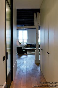 Restructuration et aménagement intérieur d'un 50 m2, ATELIER TAQUET ARCHITECTURE D'INTERIEUR - Côté Maison
