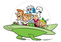 """""""The Jetsons"""" was an American animated sitcom produced by Hanna-Barbera originally airing in primetime from September 1962 to March Then again from 1985 to 1987 in the mornings. Classic Cartoon Characters, Classic Cartoons, Hanna Barbera, Vernon, Os Jetsons, Sausage Party, Movie Previews, 90s Cartoons, Animated Cartoons"""