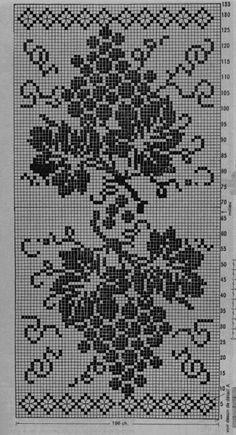 Crochet Lace Edging, C2c Crochet, Crochet Borders, Tapestry Crochet, Thread Crochet, Crochet Doilies, Crochet Stitches, Vintage Crochet Patterns, Crochet Flower Patterns