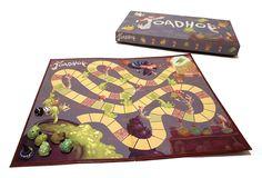Toadhop - Boardgame on Behance