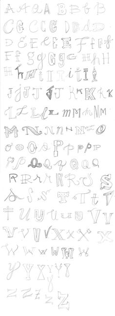 Het alfabet of verschillende manieren.