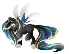 Night pony by BlackFreya on DeviantArt