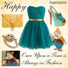 Disney Style: Happy, created by trulygirlygirl on Polyvore