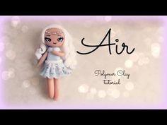 4 Elements - Air - Polymer clay Tutorial ❀ Doll Chibi