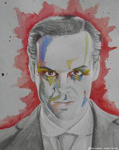 Jim Moriarty from Sherlock BBC, one of my favorite characters !  By Anaïs Taï mïo Pop Custom