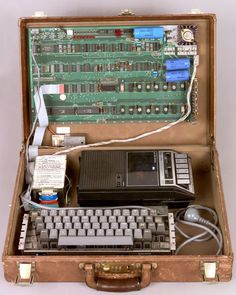 Steve Wozniak, Apple I work in progress, 1976.