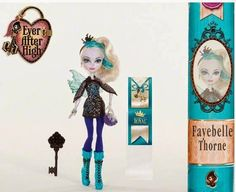 Ever After High: 2015 new character dolls: Royal Fayebelle Thorne™ (Daughter of the Wicked Fairy Godmother)!