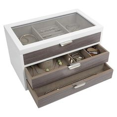 Hagerty Jewelry Keeper Hanging organizer Container store and