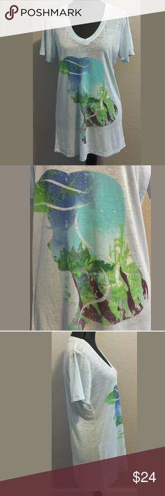 "🆕 Disney Little Mermaid x-large t-shirt top sheer New without tags Disney Little Mermaid size x-large t-shirt top, lightweight, sheer, soft. 52% cotton 48% polyester. Bust 20 1/4"" armpit to armpit Length 29 1/4"" shoulder to hem. Measurements are approximate. Disney Tops Tees - Short Sleeve"