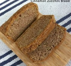 Cinnamon Zucchini Bread Recipe I used coconut oil and made muffins, baked them for about 30 mins, so yummy