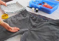 1000 ideas about jeanstasche n hen on pinterest taschen. Black Bedroom Furniture Sets. Home Design Ideas