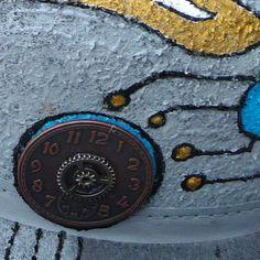 Eion bowler hat - side detail