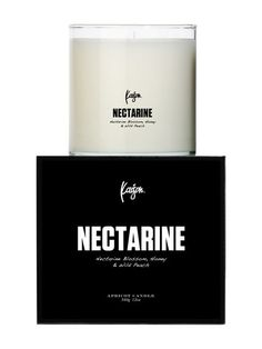 Nectarine Colin Candle (12.5 OZ) by Kaison at Gilt