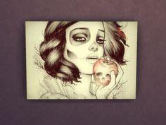 daanlavigne's disney princess canvas