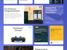 Patagonia UI KIT_blog by Dmitry Kohalov - Dribbble