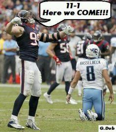 Go Texans Go!!!!!