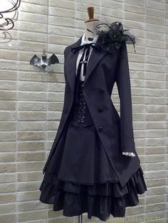 Dress classy black fashion styles 52 Ideas Source by fashion classy Mode Steampunk, Steampunk Fashion, Steampunk Clothing, Gothic Steampunk, Steampunk Dress, 40s Mode, Mode Lolita, Estilo Lolita, Gothic Lolita Fashion