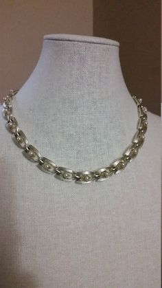 Check out this item in my Etsy shop https://www.etsy.com/listing/293374985/coro-chain-link-choker-with-faux-pearls