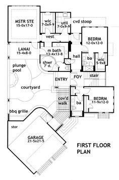 Plan 16848WG: Upside Down Contemporary