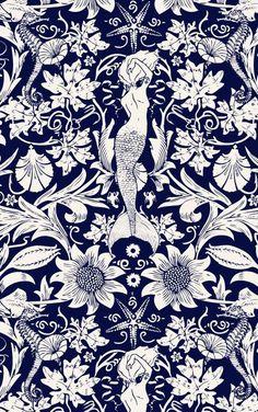 Blue Fans Japanese Textiles Patterns Am I Blue