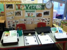 Vets role play area