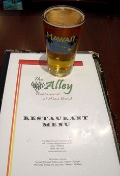The Alley Restaurant at Aiea Bowl | The Tasty Island